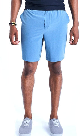 Ohmme Eco Warrior I Gym Shorts - Ocean Blue - Gymzey.com