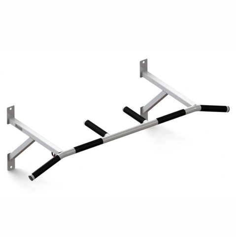 Premium Wall Mounted Pull Up Bar with 3 Padded Hand Positions - Gymzey.com