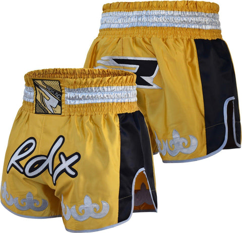 RDX Dandelion Boxing Muay Thai Shorts - Yellow - Gymzey.com