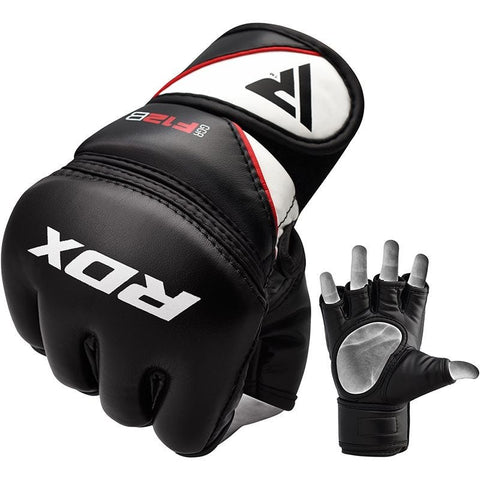 RDX F12 MMA Grappling Gloves - Black - gymzey-com