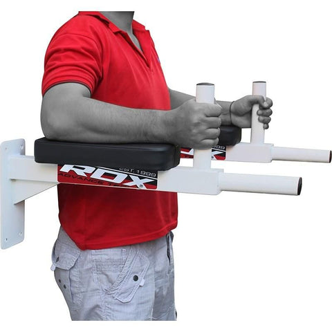 RDX Heavy Duty Wall Mounted Padded Chin up Pull up Bar - gymzey-com