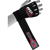 RDX X3 Neoprene Gel Grappling Gloves - Red - Gymzey.com