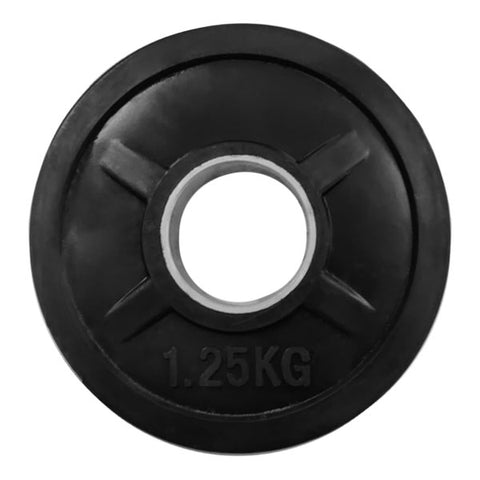 Rubber Coated Olympic Weight Plate - 1.25kg