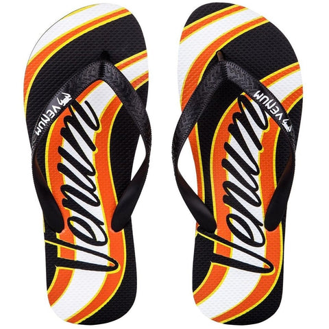 Venum Cutback Sandals Black/Yellow - Gymzey.com