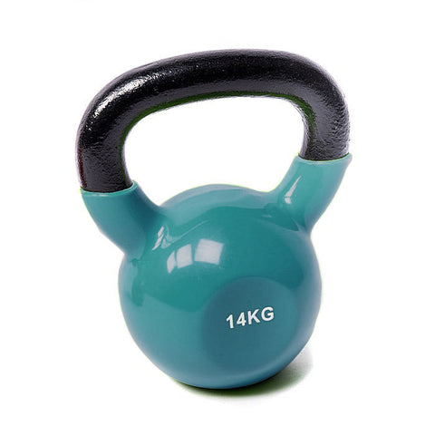 Vinyl Coated Cast Iron Kettlebell - 14kg (single)