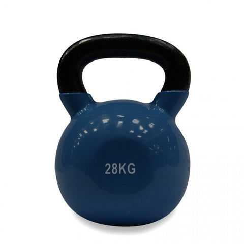 Vinyl Coated Cast Iron Kettlebell - 28kg (single)