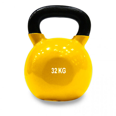 Vinyl Coated Cast Iron Kettlebell - 32kg (single)