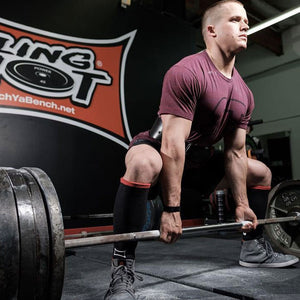 Mark Bell Strong Shin Savers - Designed for Deadlifting
