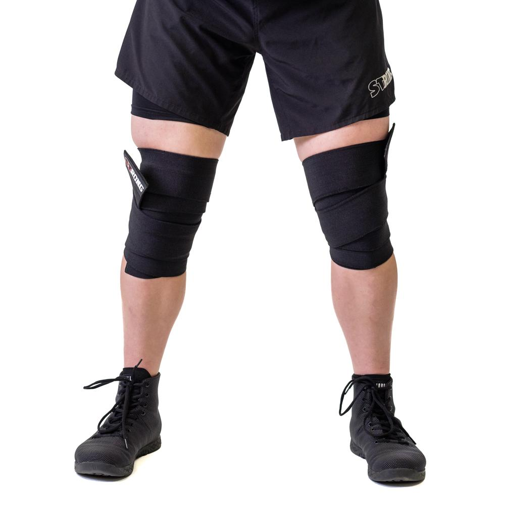 STrong Knee Wraps (Sold as a pair)