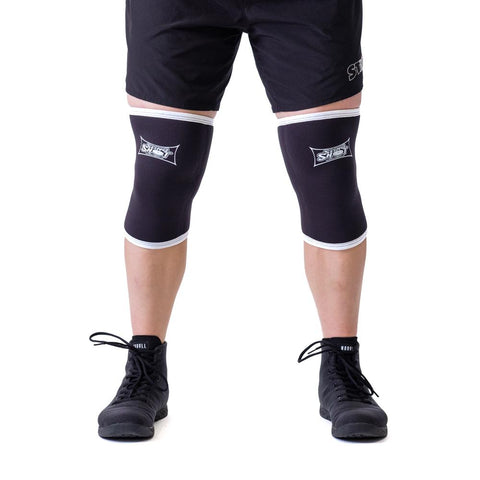 Black Slingshot Knee Sleeves 2.0 (Sold as a pair)