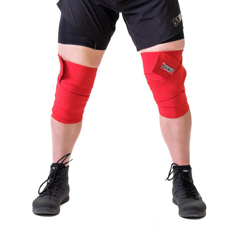 World Record Knee Wraps (Sold as a pair)