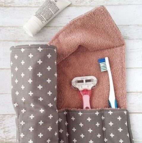 Terry Cloth Travel Roll