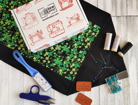 Join the Sew What Box monthly sewing subscription box
