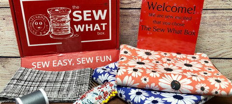 Unboxing of The Sew What Box