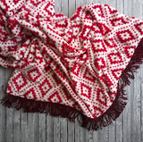 Sew Lush Winter Fuzzy Blanket Sewing Project