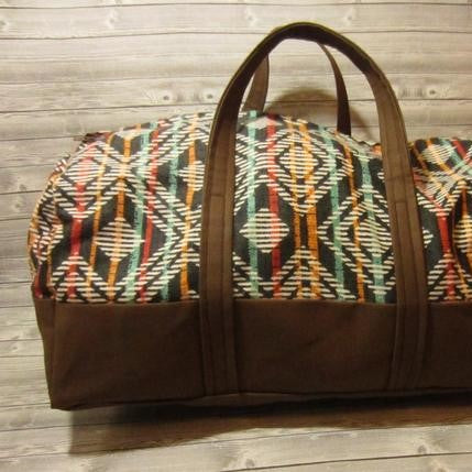 Duffel Bag Sewing Pattern