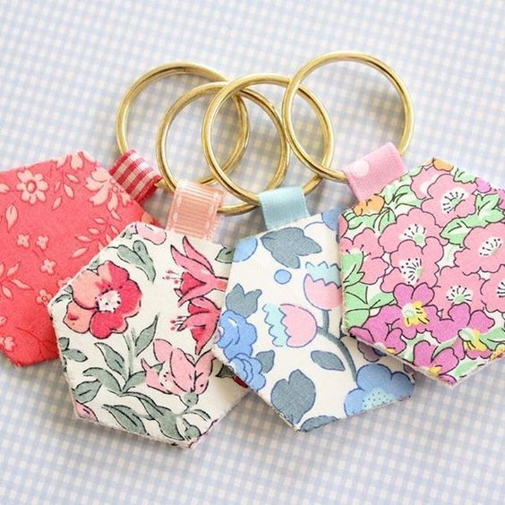 Set of 6 Keychains