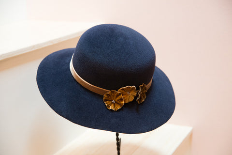 Jemma, Wool Wide Brim Hat