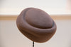 Mia Pill Box Hat in Taupe