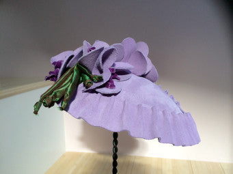 Jennifer, Lavender Fascinator