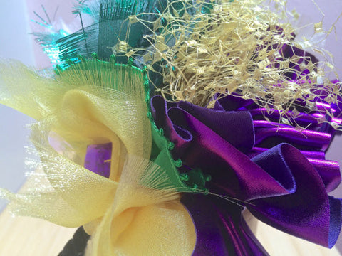 Mardi Gras Headpiece and Carnival headpiece!