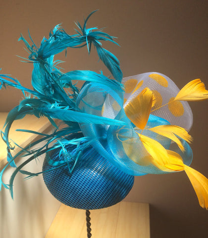 American Pharoah, Belmont Stakes Races Triple Crown Fascinator Hat!