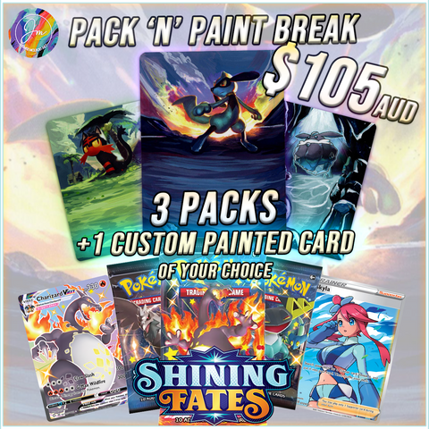 PACK 'N' PAINT - SHINING FATES