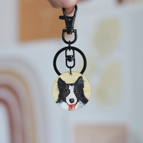 Custom Pet Keyring