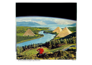 The Great Pyramids of Carlingford Lough collage 1994 bvy Sean HIllen