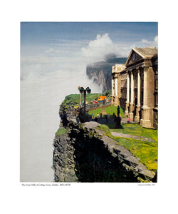 """The Great Cliffs of Collage Green, Dublin, IRELANTIS"" A4 archival print"