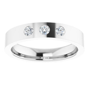 Flat Diamond Band
