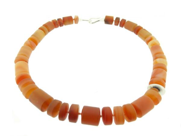 Carnelian Roundel Necklace