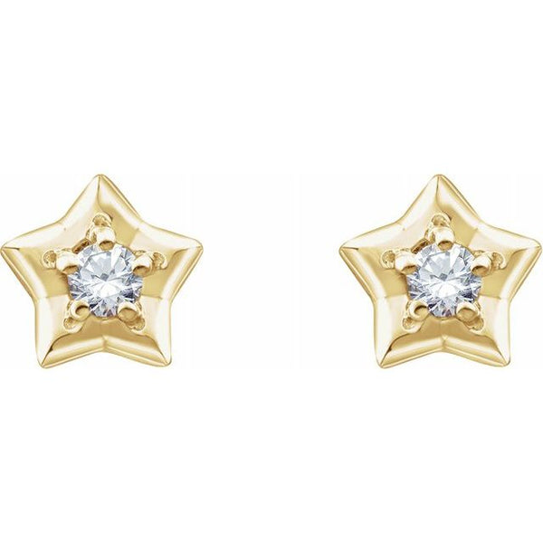 Youth Star Gold Earrings