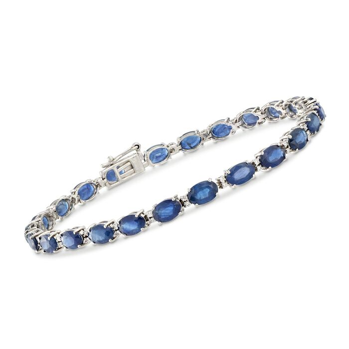 Sapphire and Diamond Estate Bracelet