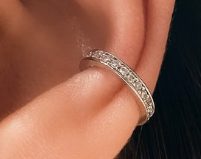 Ear Cuff with Diamond