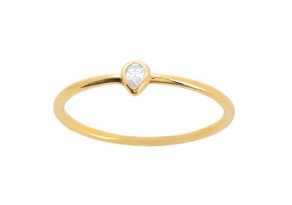 Pear Diamond Narrow Band