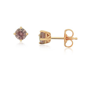 Mahenge Pink Garnet Earrings