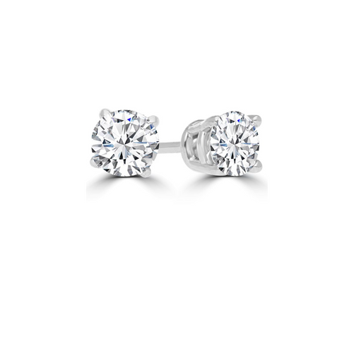 Diamond Stud Earrings 3/4 Carat