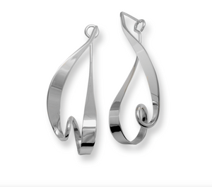 Kinetic Sterling Silver Earrings