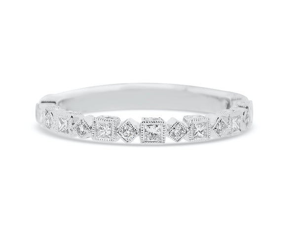 Alternating Diamond Band