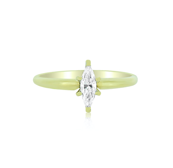 Marquise Diamond Solitare