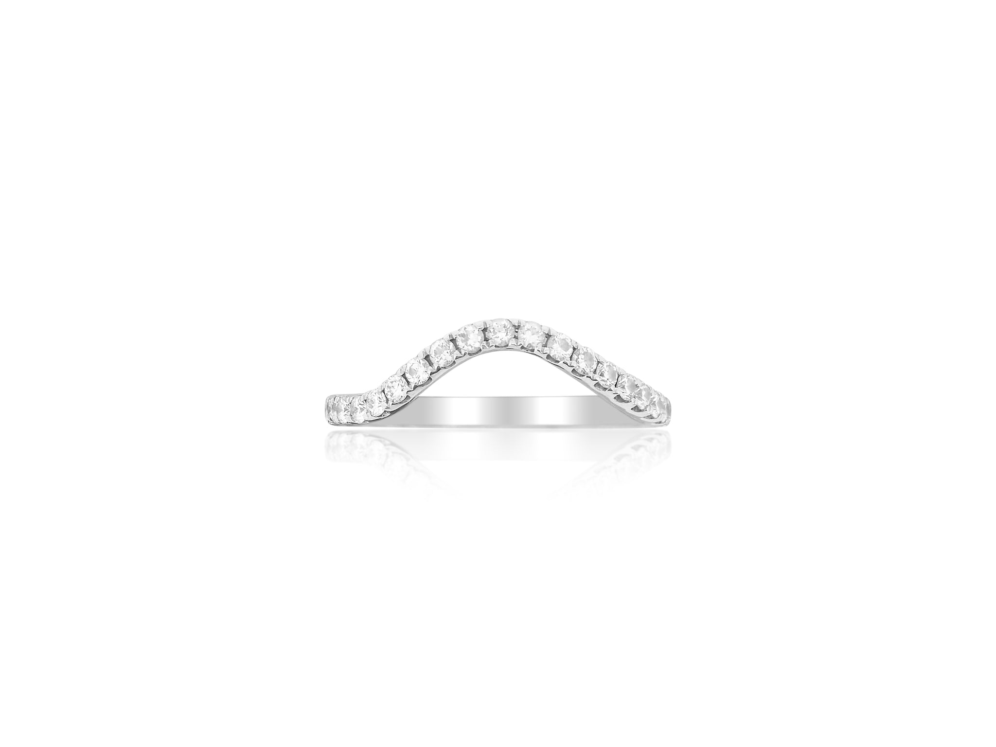 High Curve Diamond Band