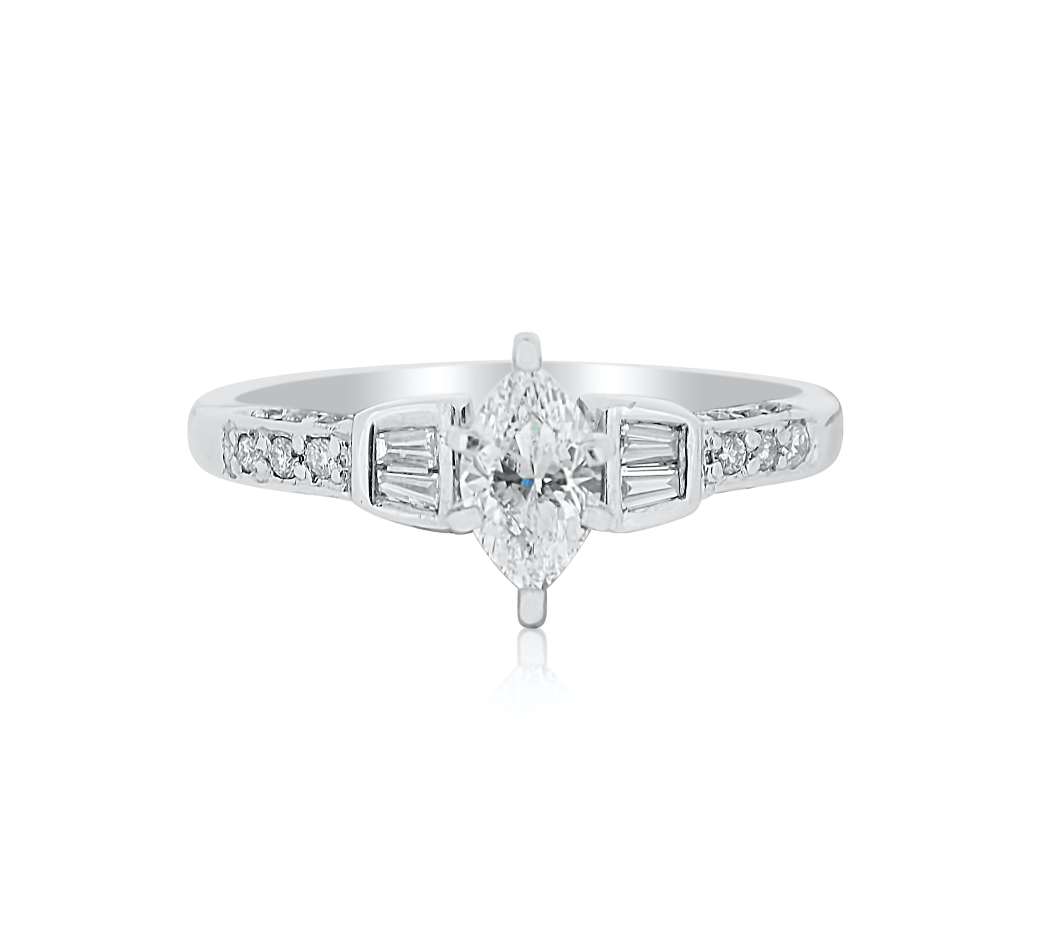 Marquise Diamond with Accents