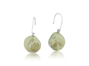 Pearl French Wire Earrings