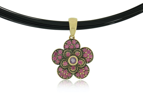 Flower Gem Pendant
