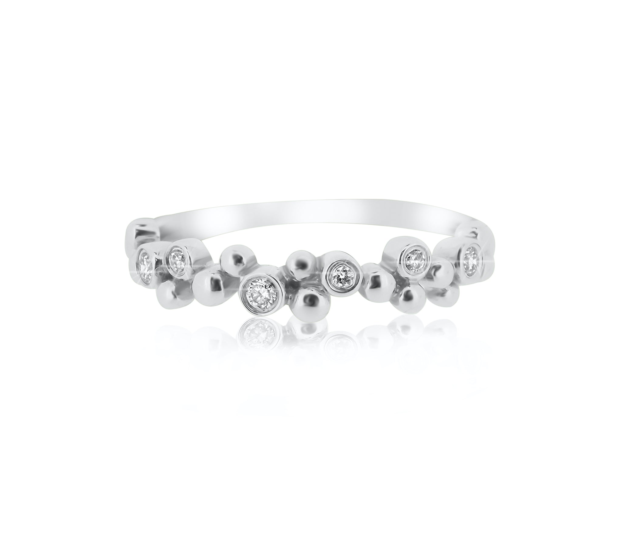 Bezel Dot Ring