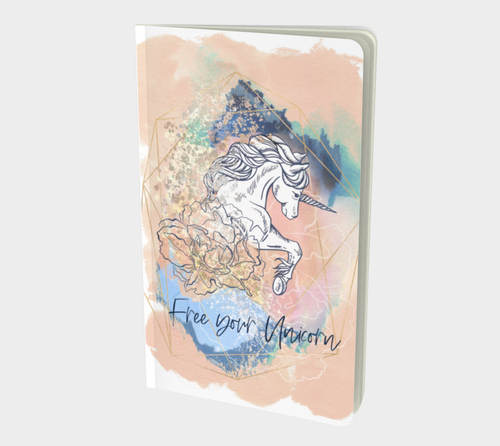 Carnet de Notes - Free Your Unicorn - Petit - 5'' X 8.5''