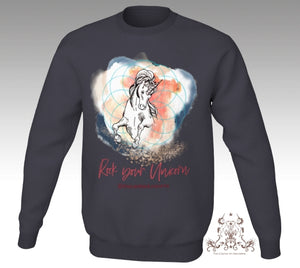 Sweatshirt Unisexe - Rock Your Unicorn All Day