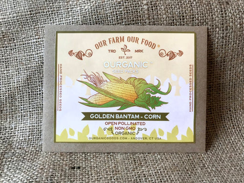 Golden Bantam Corn - Organic