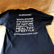 Load image into Gallery viewer, OURGANIC T-Shirt - Black